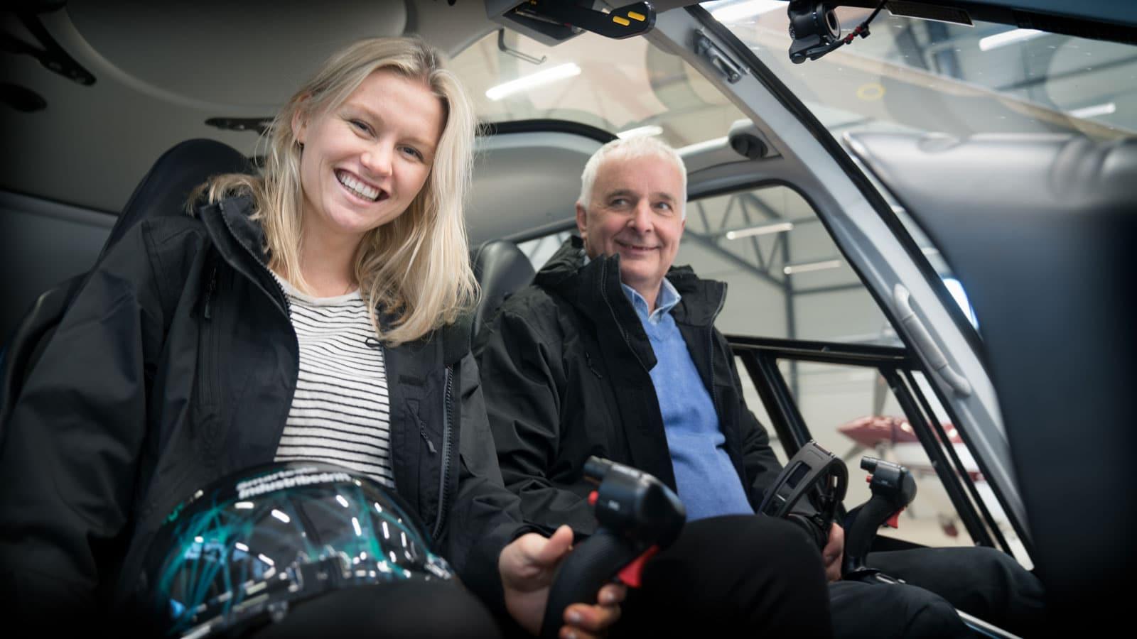 Ola, meg og et helikopter
