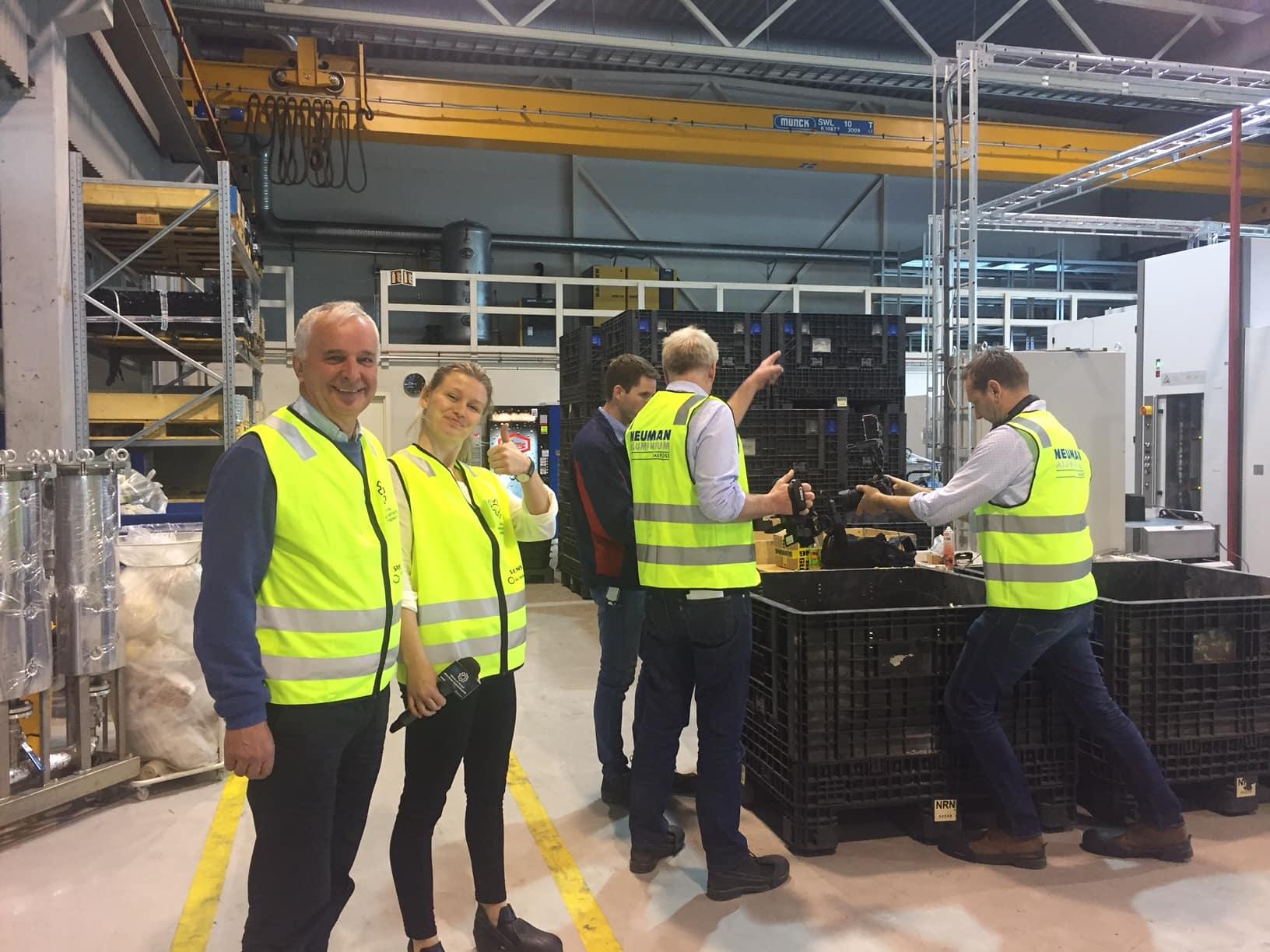 Besøk hos Neuman Aluminium Raufoss